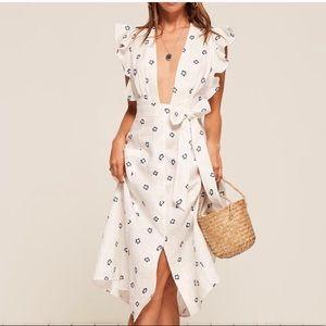 Reformation Serengeti Dress sz 4